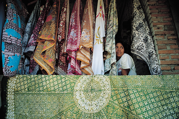 Ubud batik shop