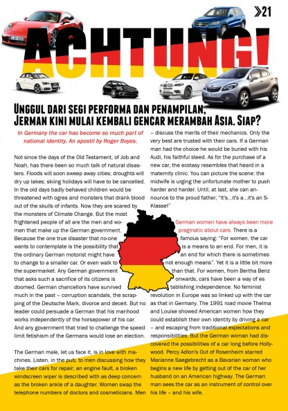 5 GO German Car